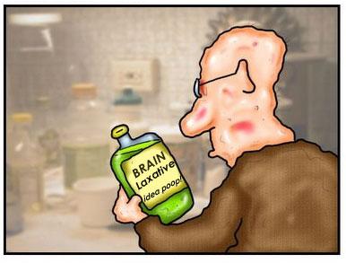 brain poop producer!