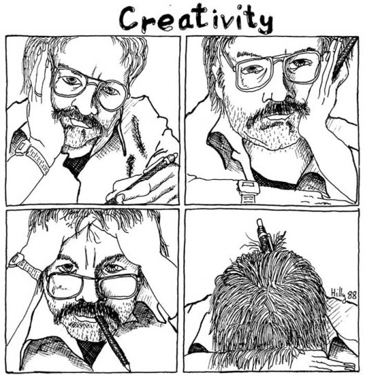 The ultimate end of creative block!